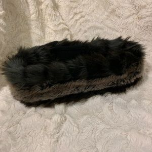 Parkhurst Accessories - Hudson's Bay Winter headband, reversible faux fur